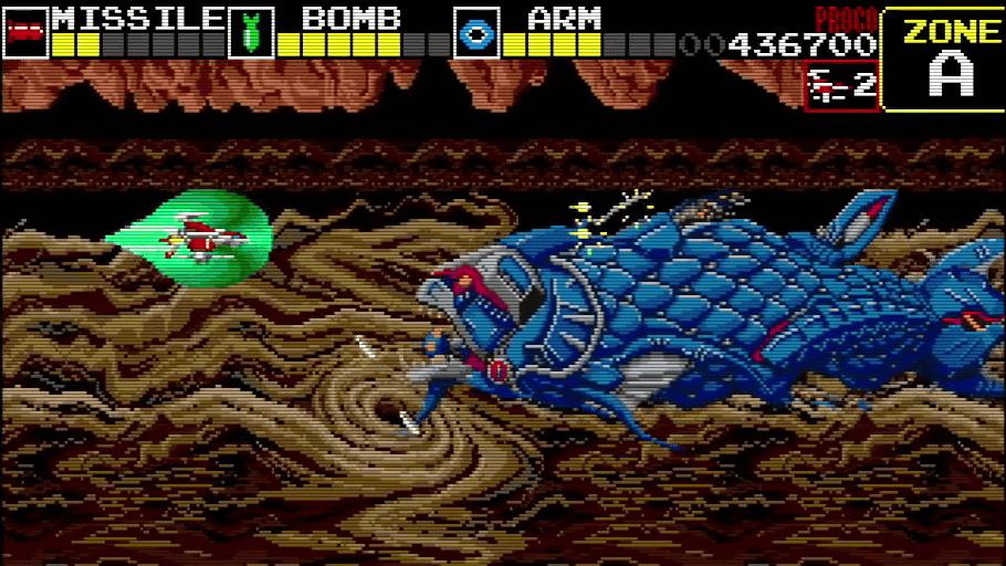 Mega Drive Mini Port Of Darius Is