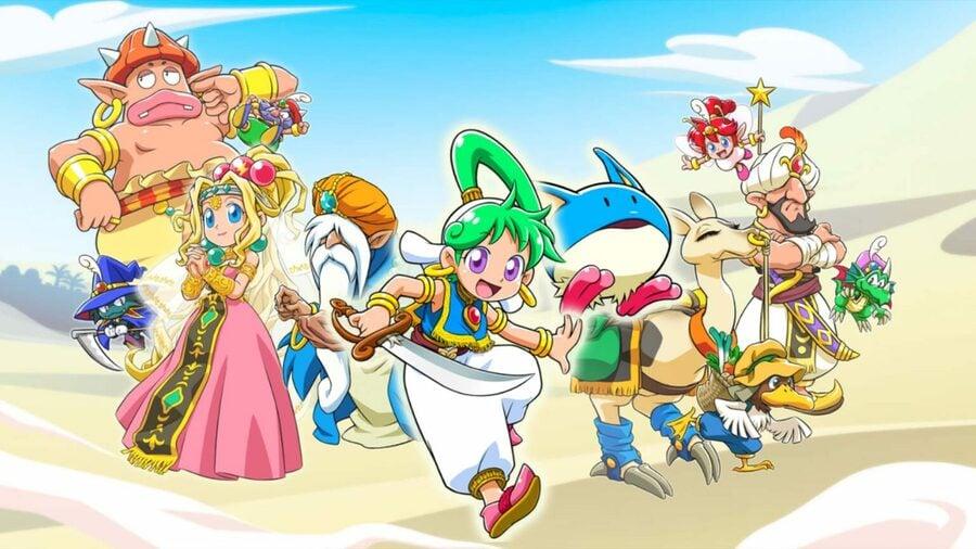 Wonder Boy Asha In Monster World (Switch)