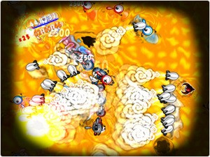 Anti-virus rocket attack!