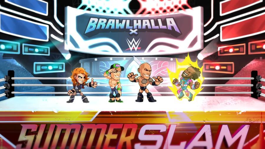 Brawlhalla X WWE Crossover