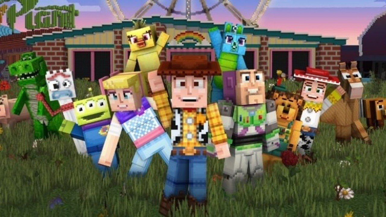 Toy Story Mash-Up Pack Now Available In Minecraft - Nintendo