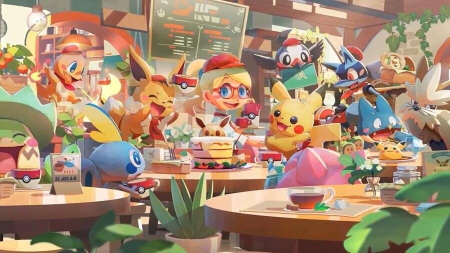 Pokemon Cafe Mix 2
