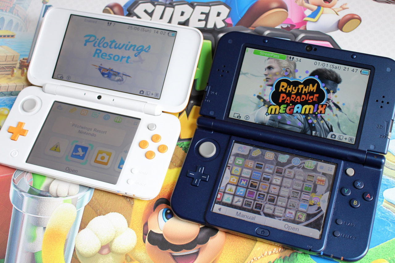 Hold Me, There's A New Firmware Update For Nintendo 3DS