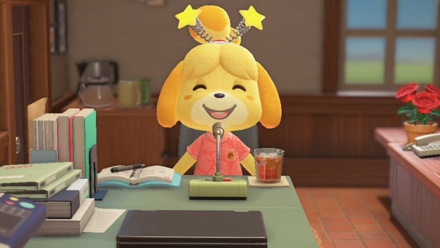 Animal Crossing New Horizons Isabelle Events