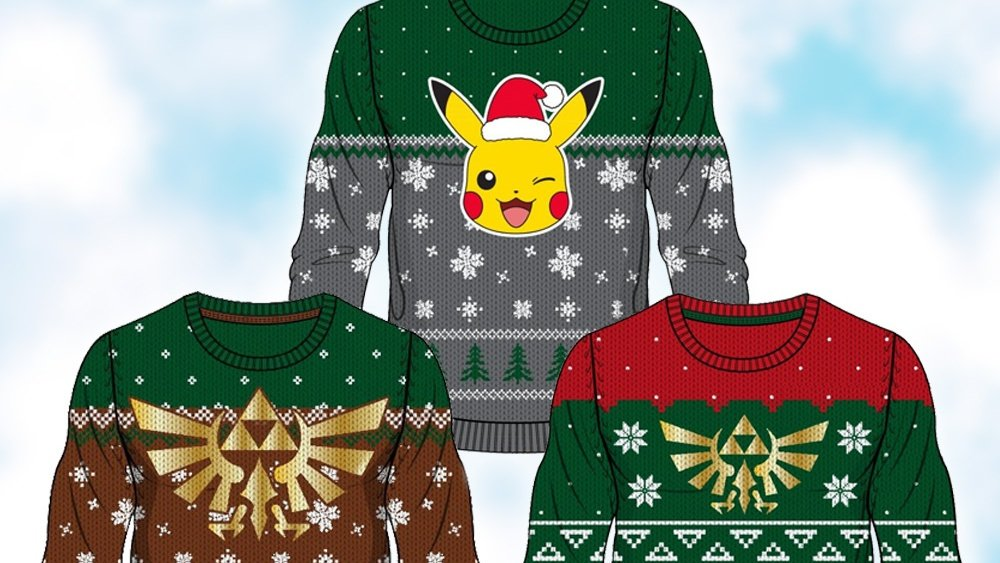 Tis The Season For A New Line Of Nintendo Christmas Sweaters Pre