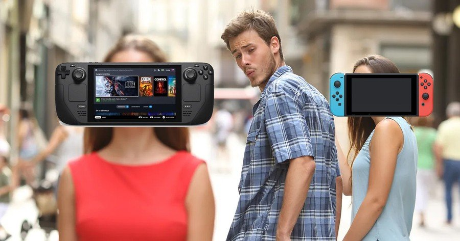 Steam Deck vs Switch