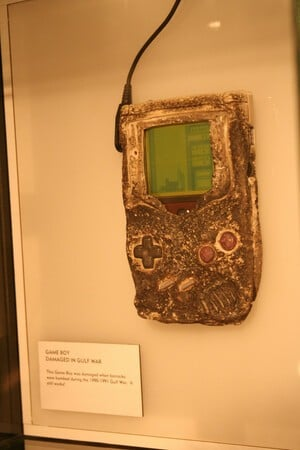 Even the Gulf War couldn't stop this Game Boy unit from functioning