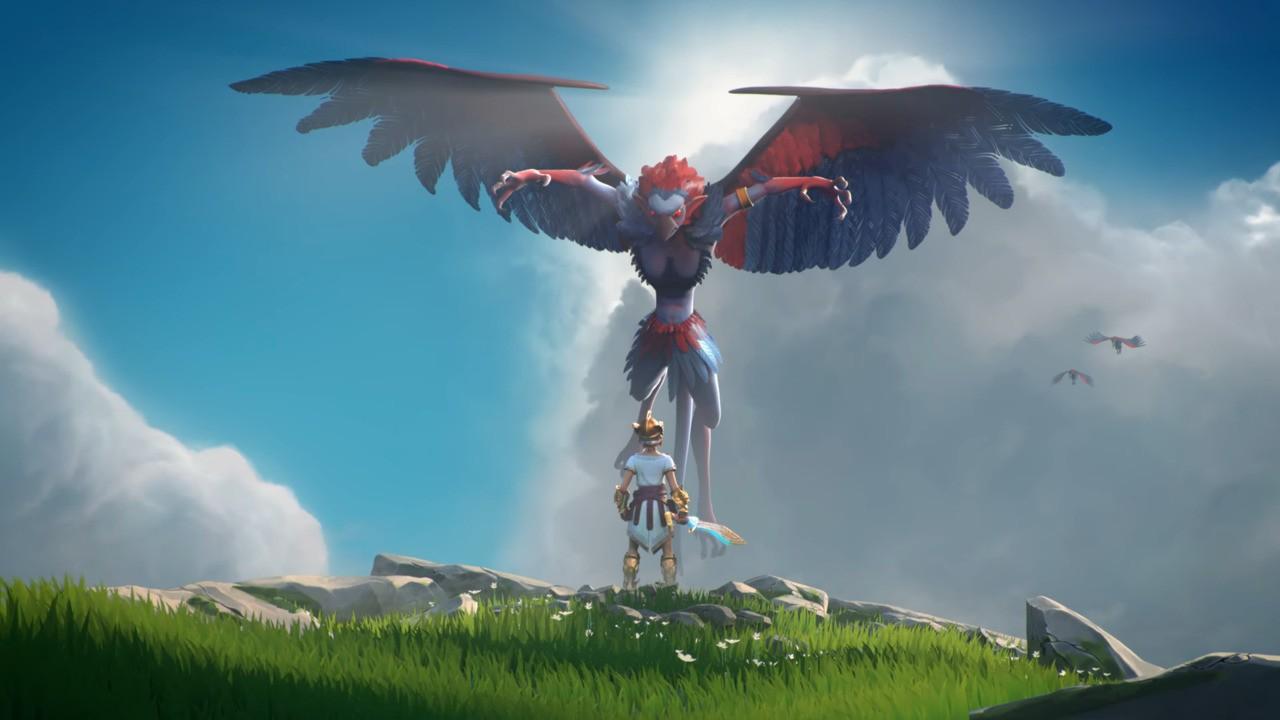Ubisoft S Gods Monsters Really Does Look Like Zelda Breath Of The Wild Nintendo Life