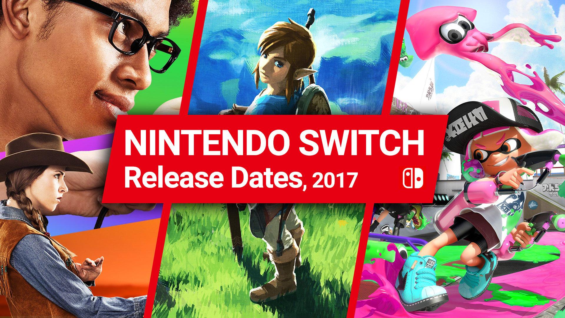 Nintendo Switch Launch Games & Release Dates 2017 - Guide - Nintendo
