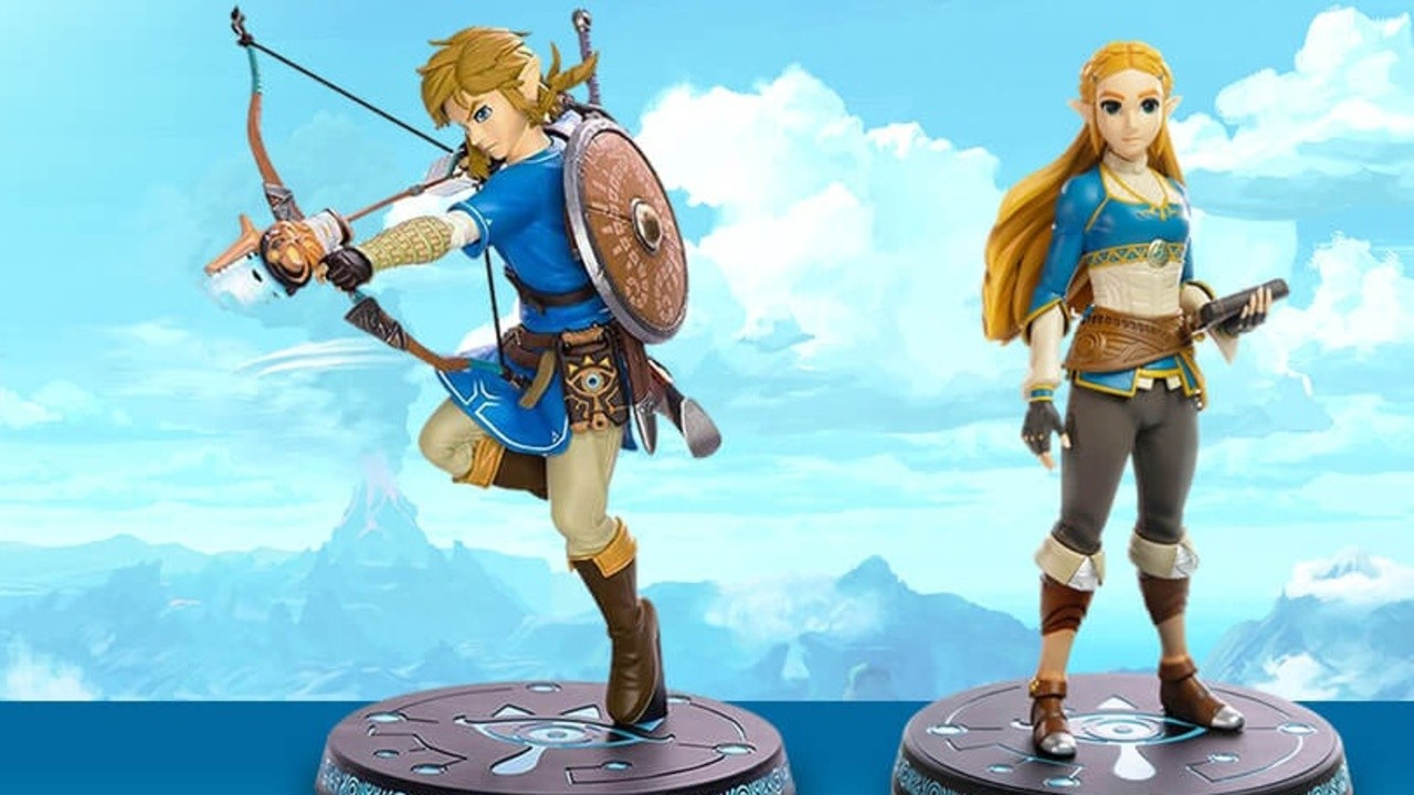 Pre Order Hyrule Warriors Age Of Calamity From Nintendo Uk For A Chance To Win These Glorious Zelda Figures Nintendo Life