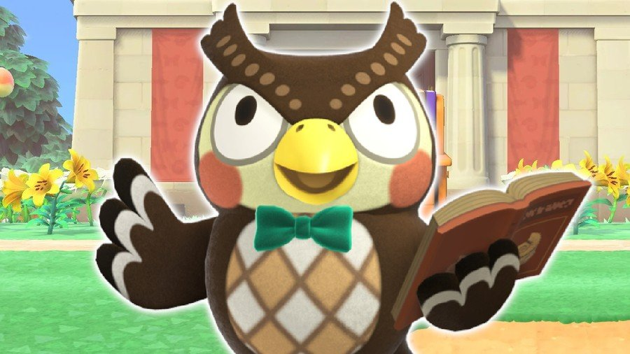 Animal Crossing Blathers National Video Game Museum