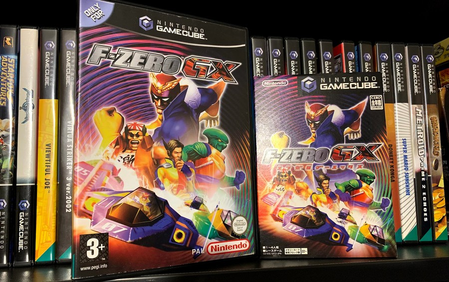 Proof that I actually like F-Zero GX, enough to own it twice