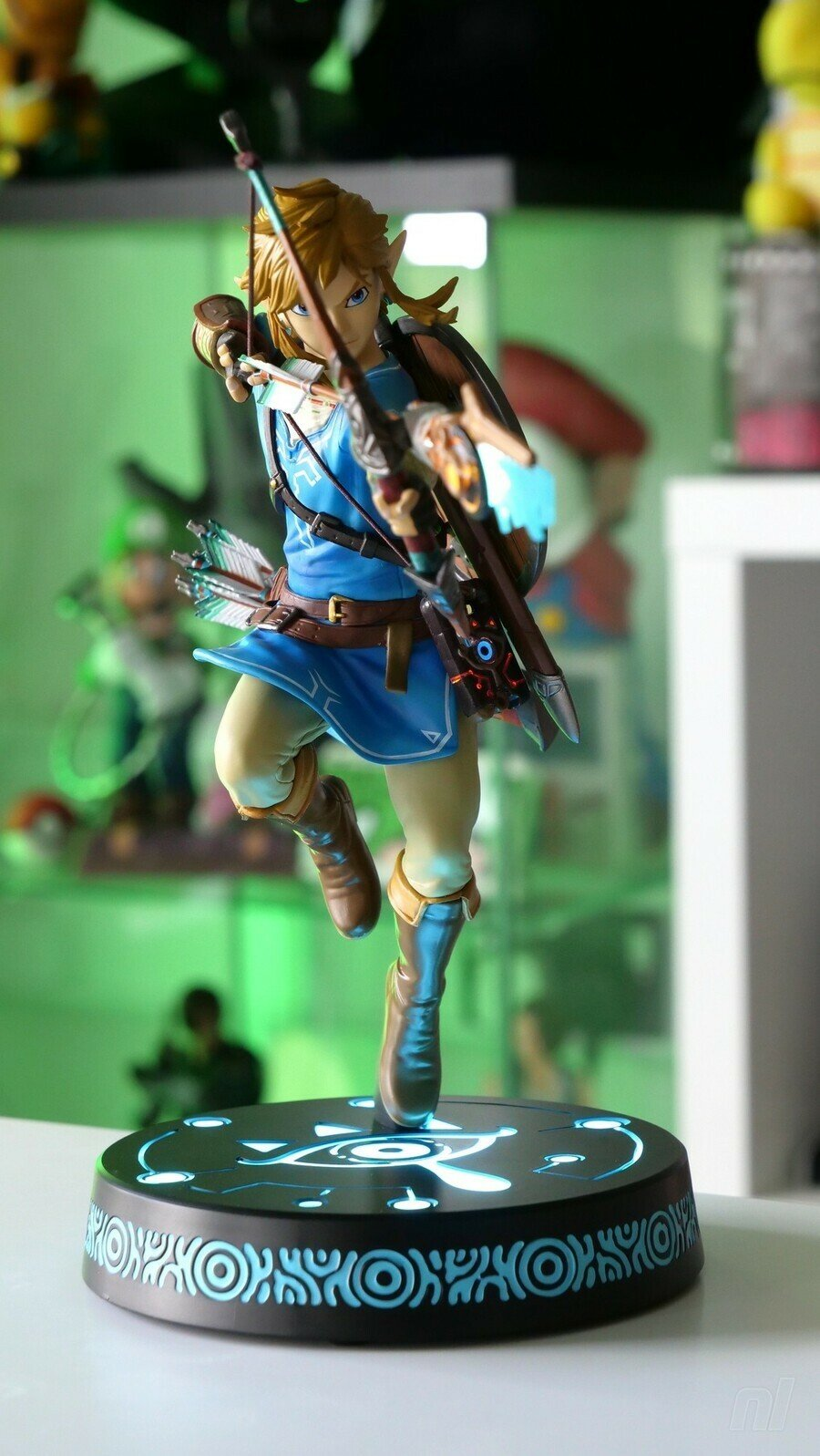 The first 4 characters of Zelda: Breath of the Wild link
