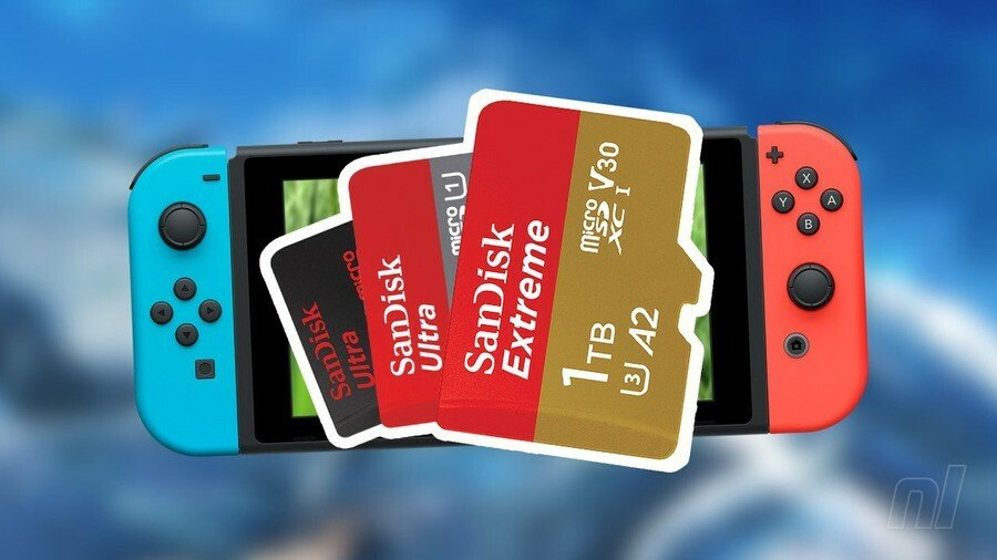 The Best Nintendo Switch Micro SD Cards