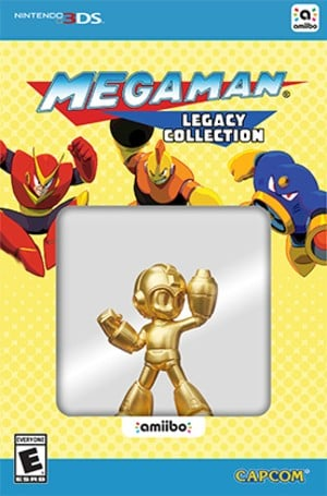 Mega Man - Gold Edition amiibo Pack