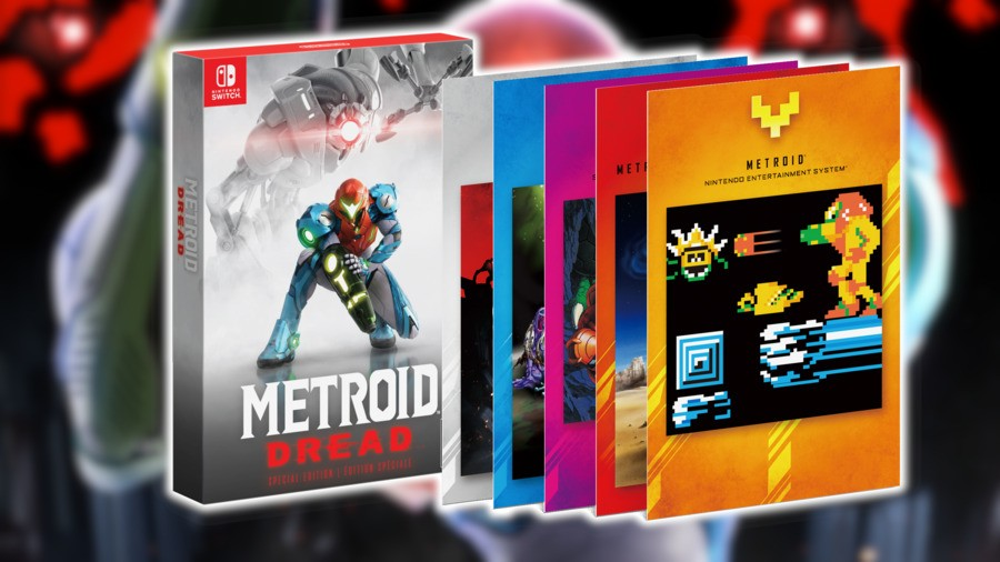 Metroid Dread Special Edition Box