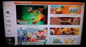 The current Wii U eShop front page in Europe reinforces the point