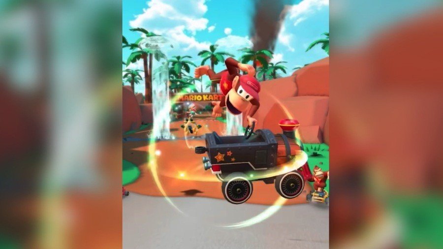 Diddy Kong's Racing Once Again With A Return To Mario Kart