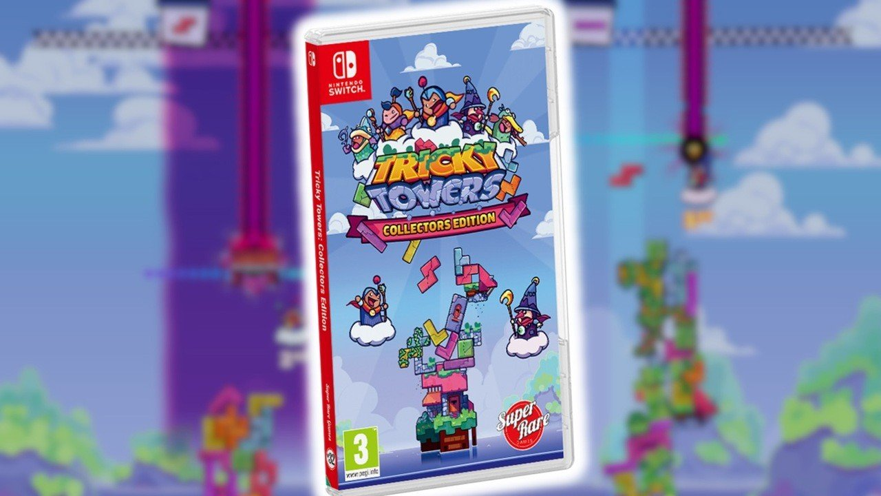 Tricky Towers Goes Physical On Switch With All DLC Included