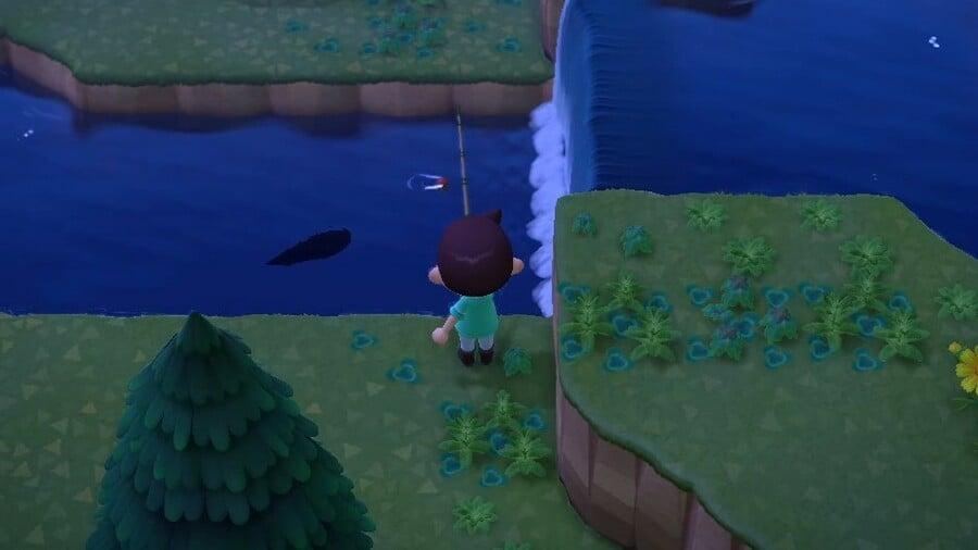 Waiting For A Stringfish Animal Crossing New Horizons Main