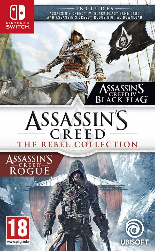 Assassin S Creed The Rebel Collection Review Switch Nintendo Life