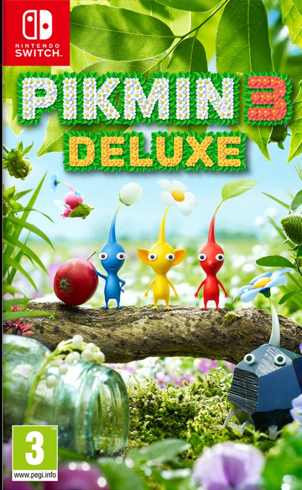Pikmin 3 Deluxe Nintendo Switch Game Profile News Reviews