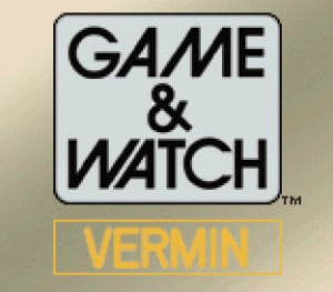 Game & Watch Vermin