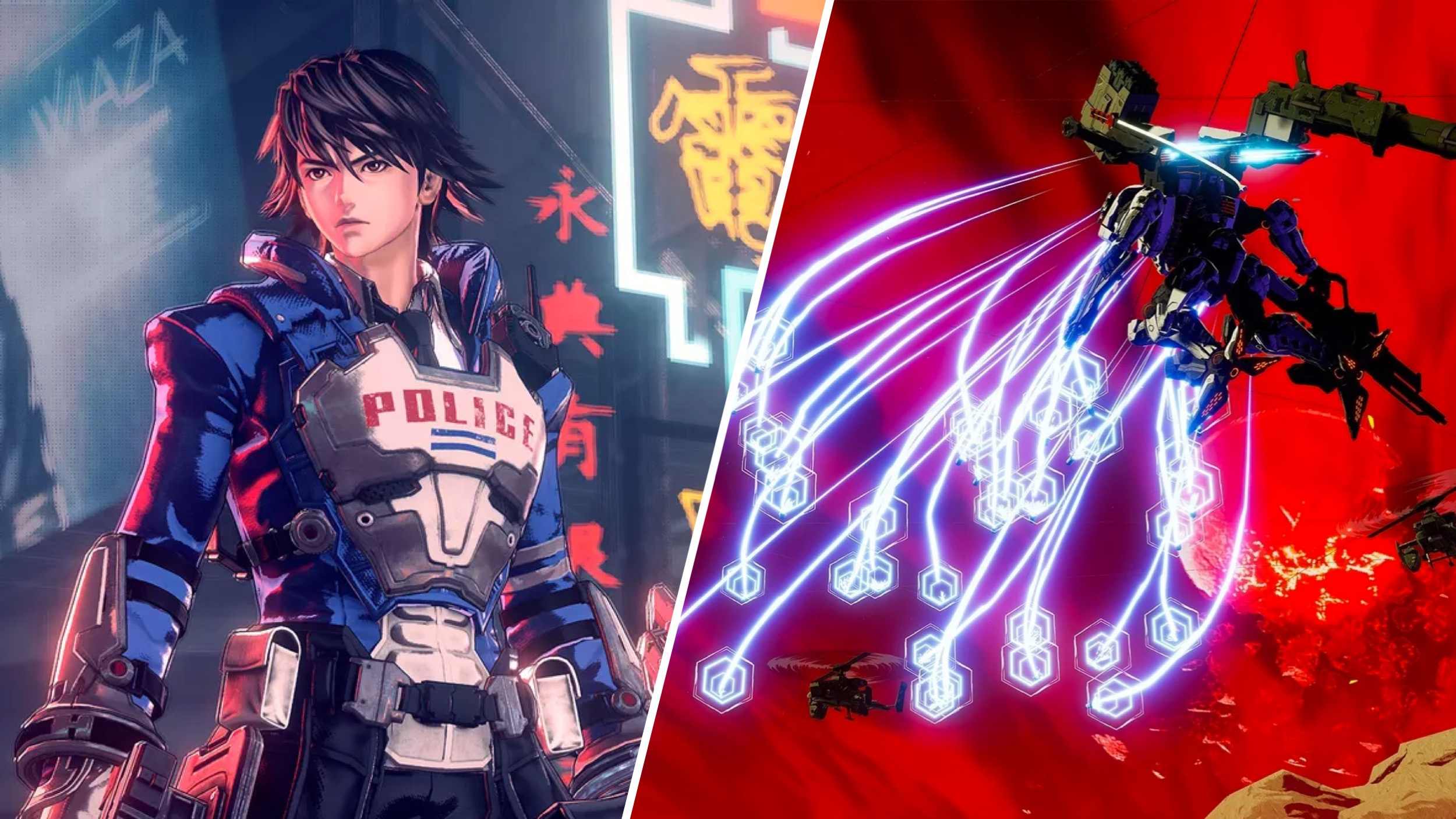 Astral Chain And Daemon X Machina Limited Editions Blast Onto The Nintendo UK Store