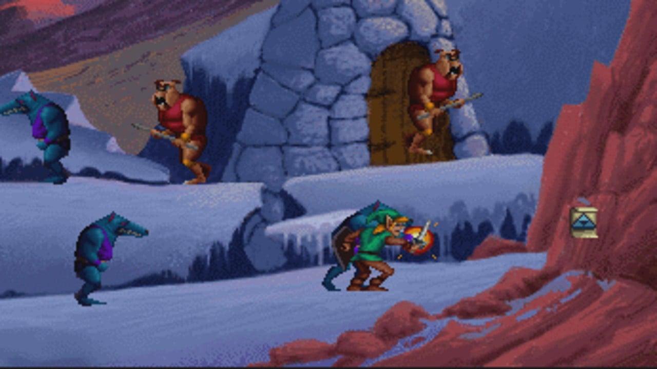 Random: Amateur Dev Releases Reimagined Remakes Of The 1993 Zelda CD-i Games