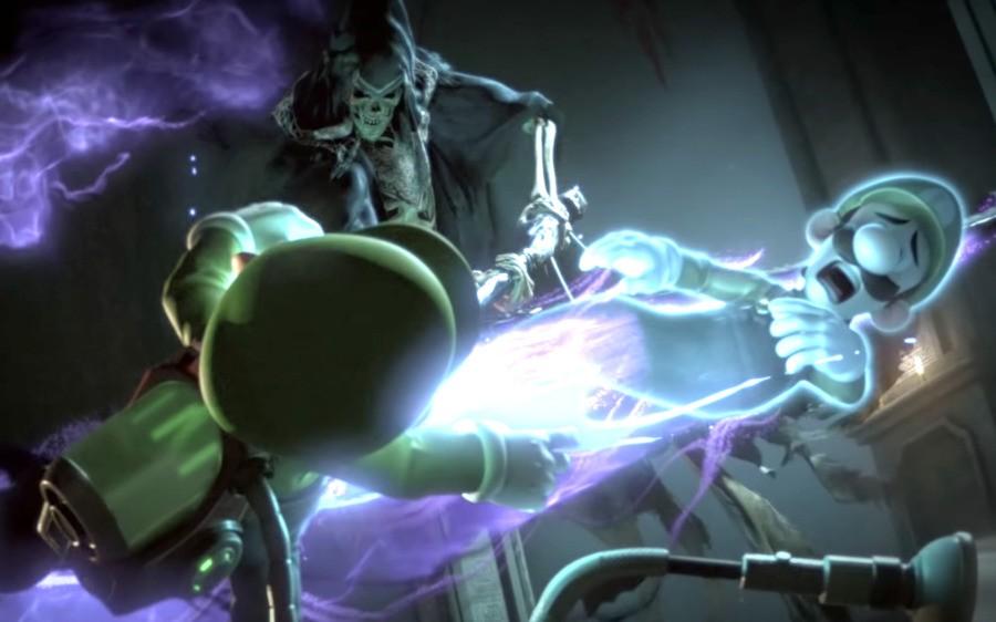 Luigi's 'death' scene in the recent Direct