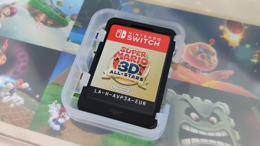 Super Mario 3D All-Stars Cart - Cropped