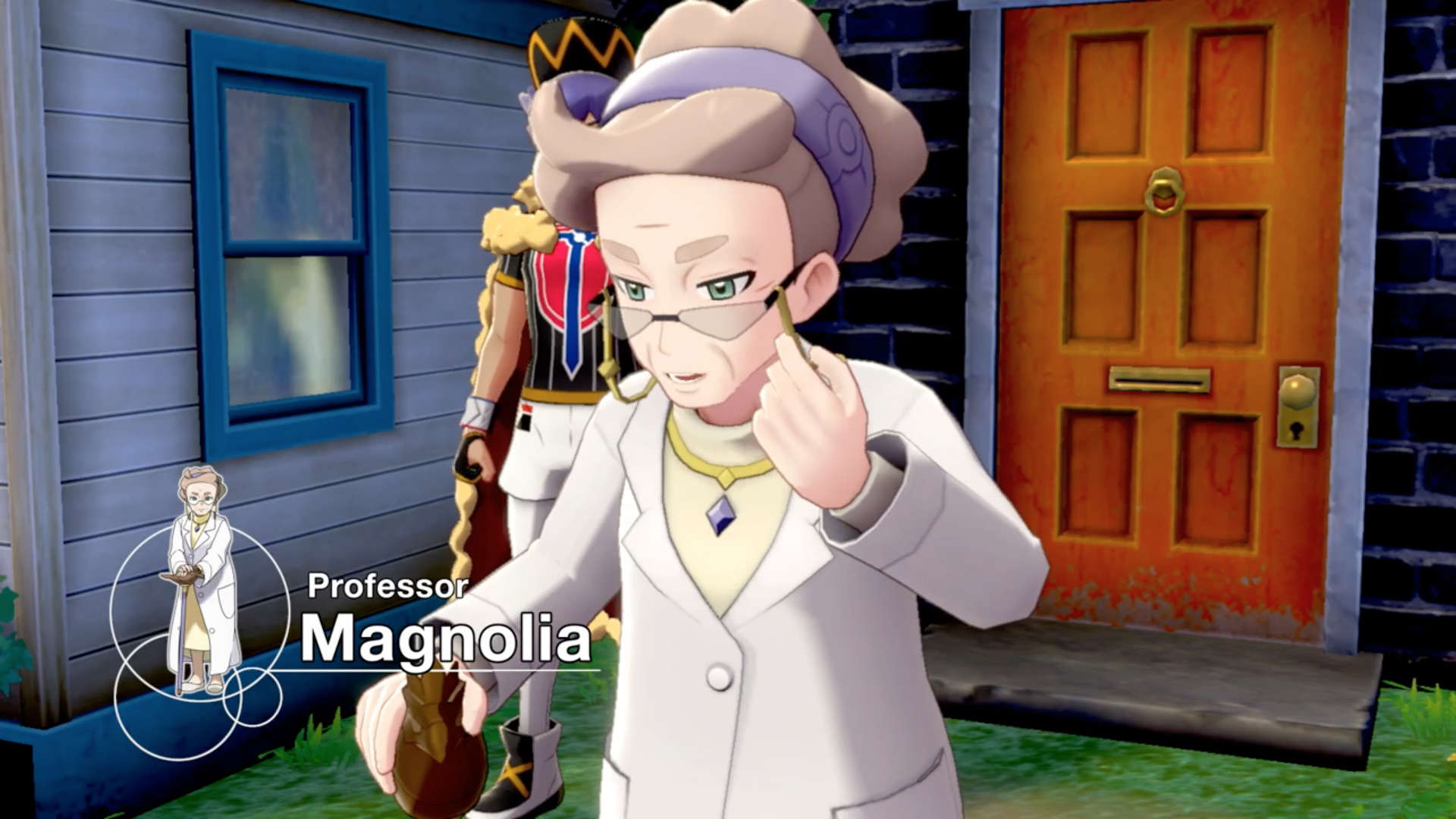 Here S Your First Look At Pokemon Sword And Shield S Champion Rival