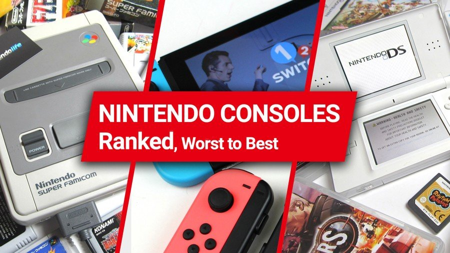 Every Nintendo Console Ranked From Worst To Best