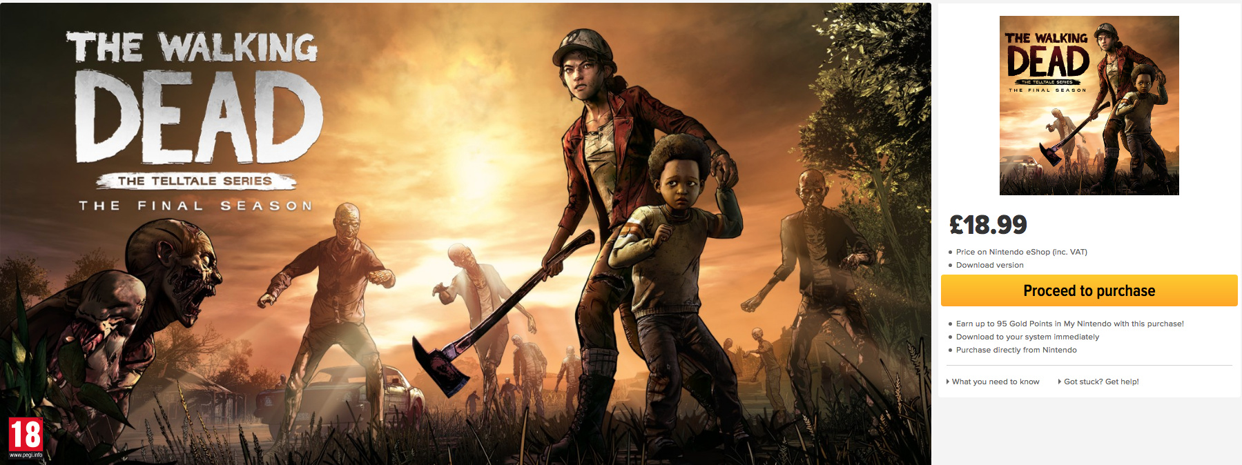The Walking Dead: The Final Season Pulled From Some Stores