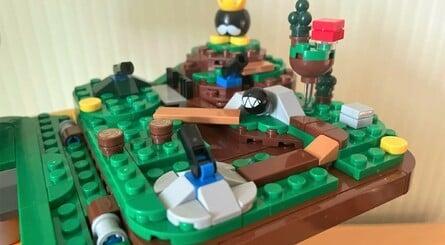 Lego Mario Block Bob Bomb
