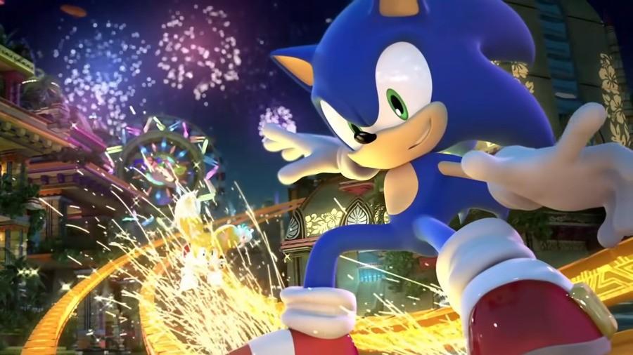 Sonic Colors Ultimate Rail