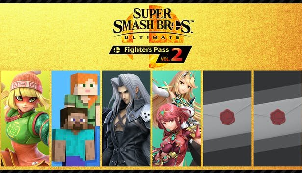 It is confirmed that there are two DLC fighters, but they have not been revealed to Smash Ultimate.