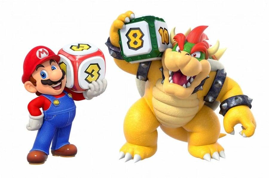Mario Party Dice Roll