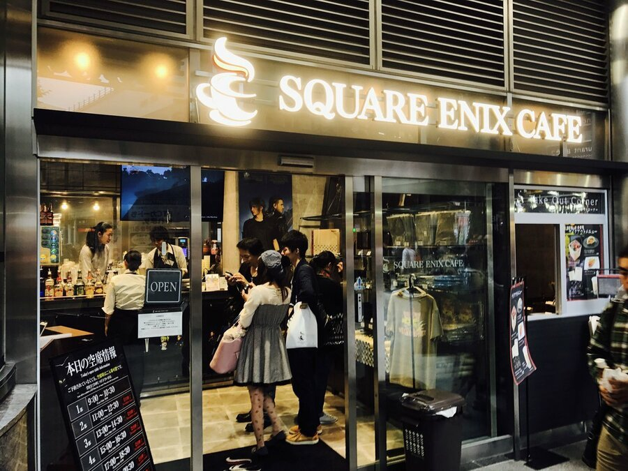 The Square Enix Cafe