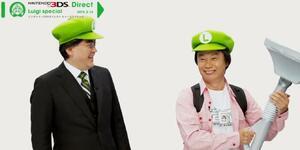 Two big-time Luigi fans