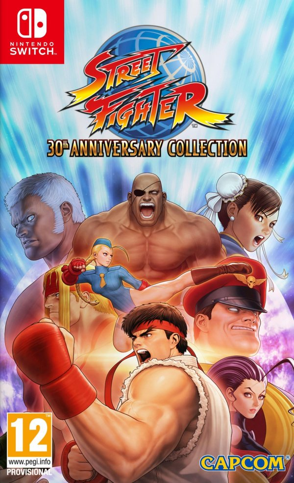 Street Fighter 30th Anniversary Collection Review (Switch