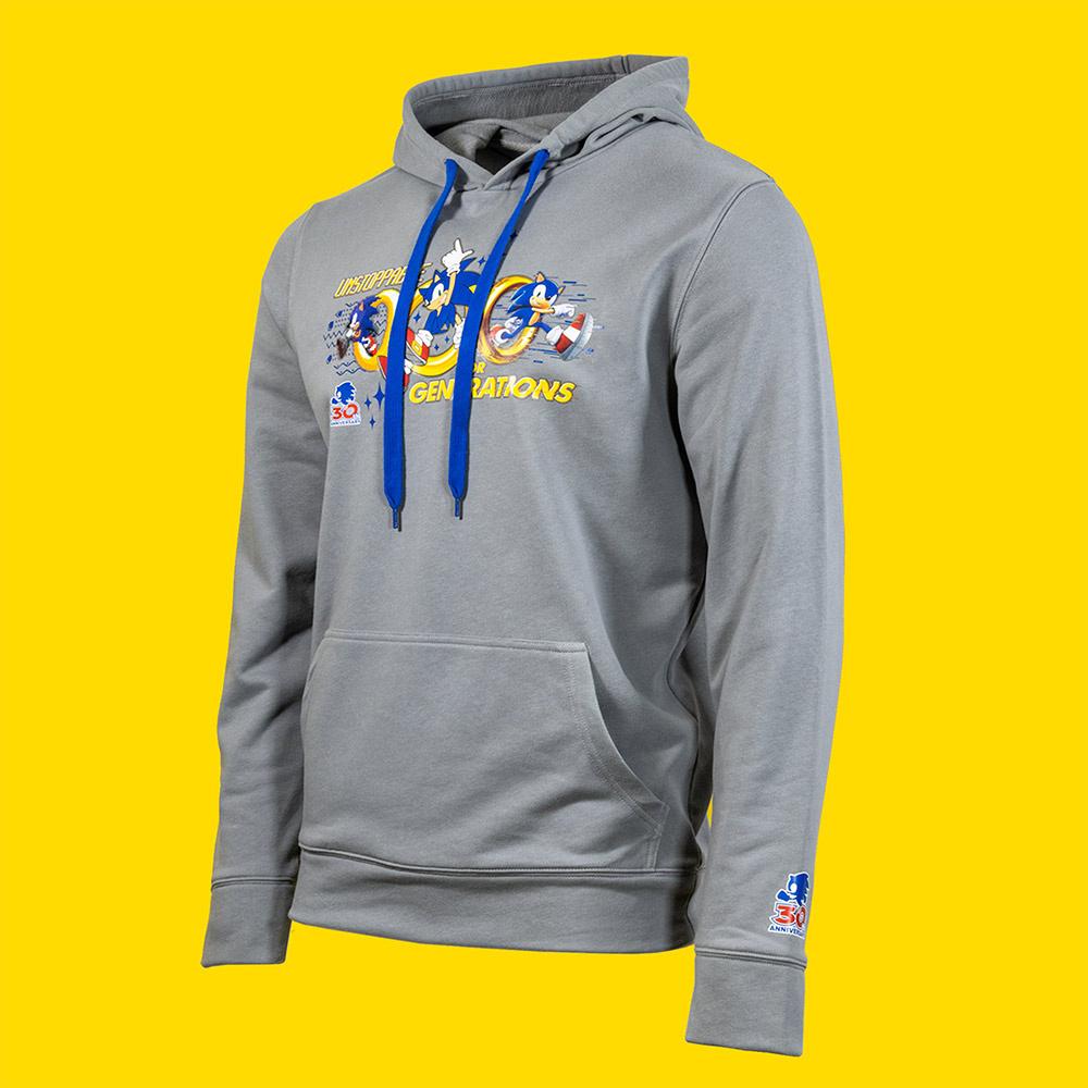 Sonic 30th Anv Hoodie 1
