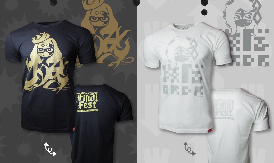 Splatoon 2 Final Splatfest T-Shirts Go On Sale In Australia And New