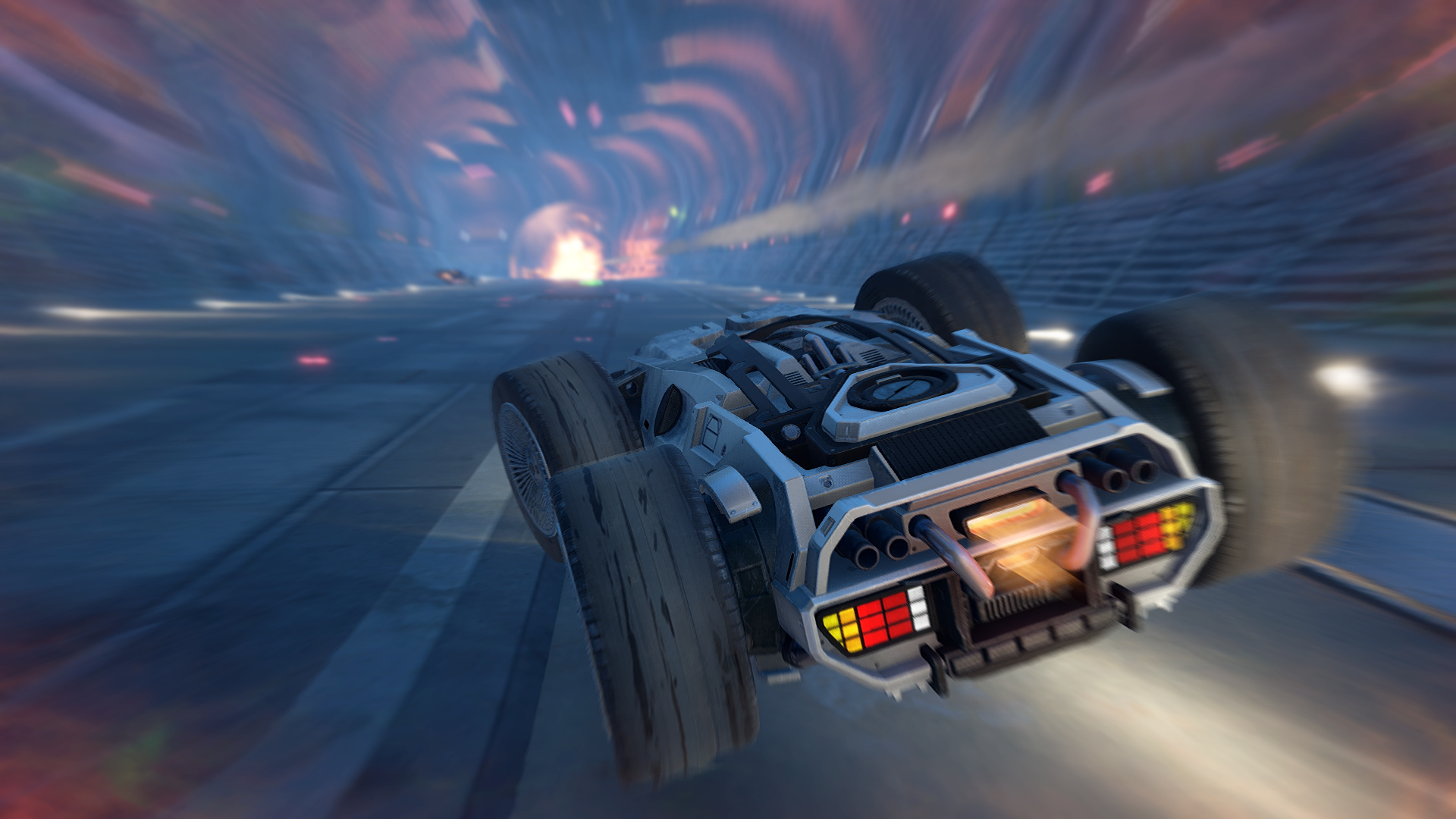 GRIP: Combat Racing Goes Back To The Future With DeLorean DLC