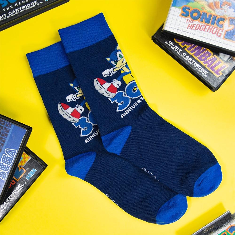 Sonic 30th Anv socks 1