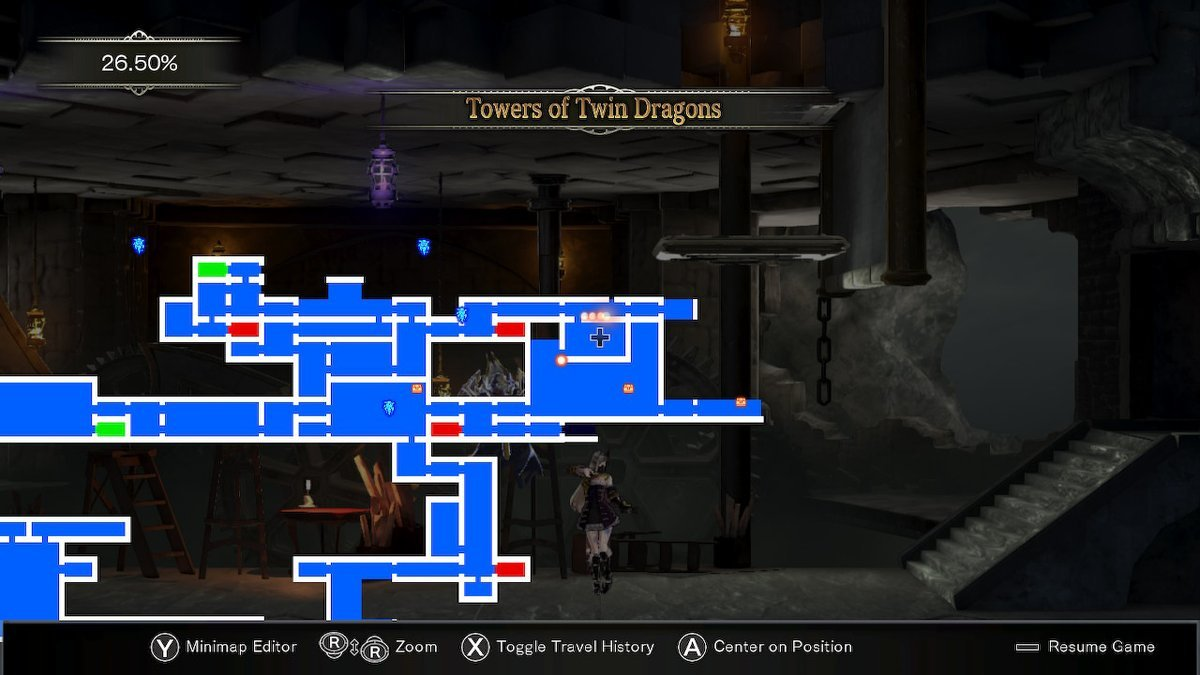 Bloodstained Walkthrough Part 5 - Tower Of Twin Dragons Boss Fight