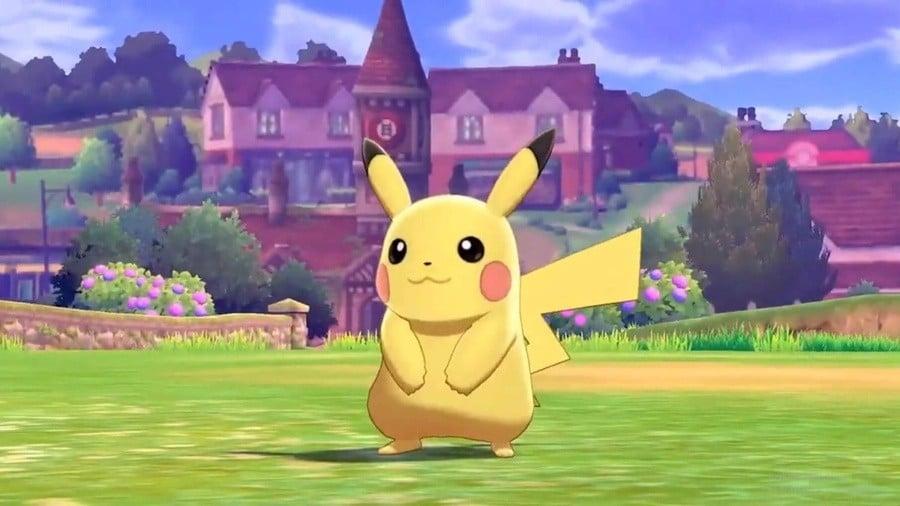 Pokemon Sword And Shield Pikachu