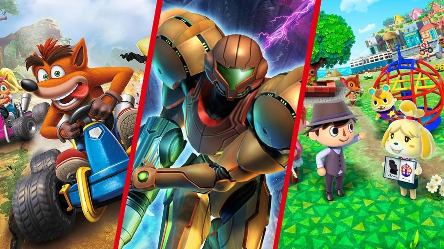Crash! Metroid! Animal Crossing!