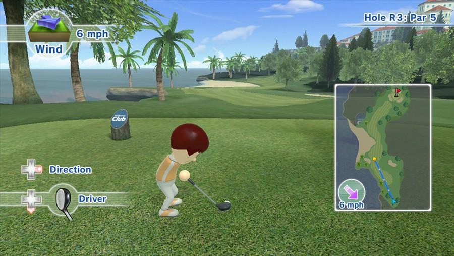 Wii Sports Club Golf Resort