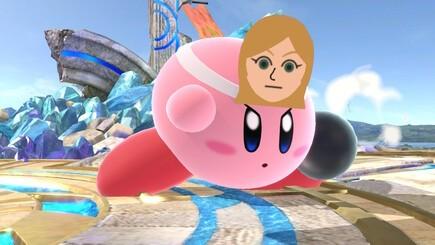 51. Mii Fighter (Brawler) Kirby
